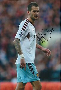 Roger-JOHNSON-SIGNED-12x8-Photo-Autograph-West-Ham-United-AFTAL-COA-Hammers
