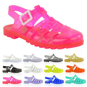 WOMENS-LADIES-JELLY-SUMMER-SANDALS-FLAT-BEACH-HOLIDAY-FLIP-FLOPS-SHOES-SIZE