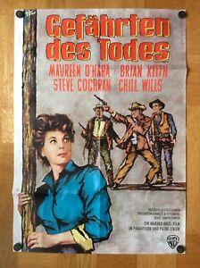 Gefaehrten-des-Todes-Kinoplakat-62-Maureen-O-Hara-Sam-Peckinpah
