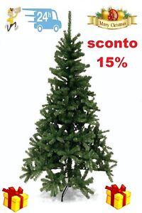 Albero Di Natale 800 Rami.Albero Di Natale Pino Artificiale 800 Rami Altezza 180 Cm Finto Ebay