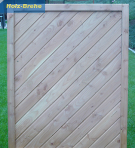 Osmo Sichtschutz Windschutz Douglasie 116x147cm Dichtzaun Zaun Stat