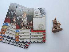 Zombicide Black Plague: Tucker survivor & card (Hero box 1) unused.