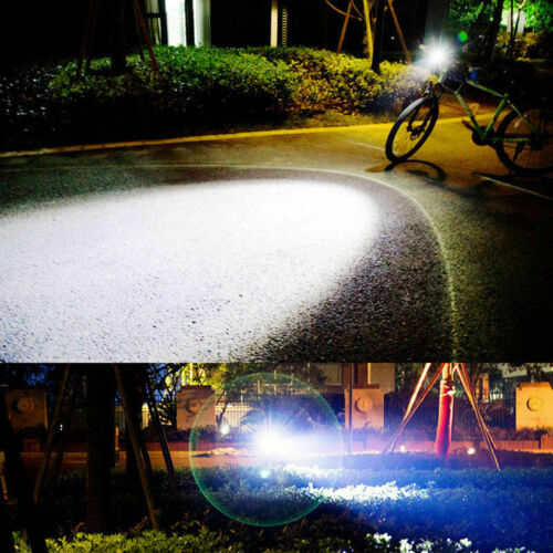 Potente Lámpara de Cabeza de Faro con zoom LED T6 Recargable 18650