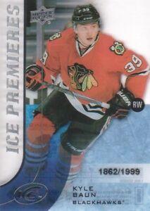2015-16-Upper-Deck-Ice-136-Kyle-Baun-RC-1999-Chicago-Blackhawks