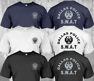 Details about NEW SWAT Police Department Dallas SECURITY INVESTIGATION -  Custom T-Shirt