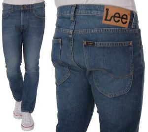 Lee-Herren-Jeanshose-Daren-Regular-Blau-Vintage-W32-W38