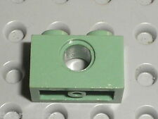 Brique lego technic SandGreen brick ref 3700 / Set 7153 65153 3450 7002 ...