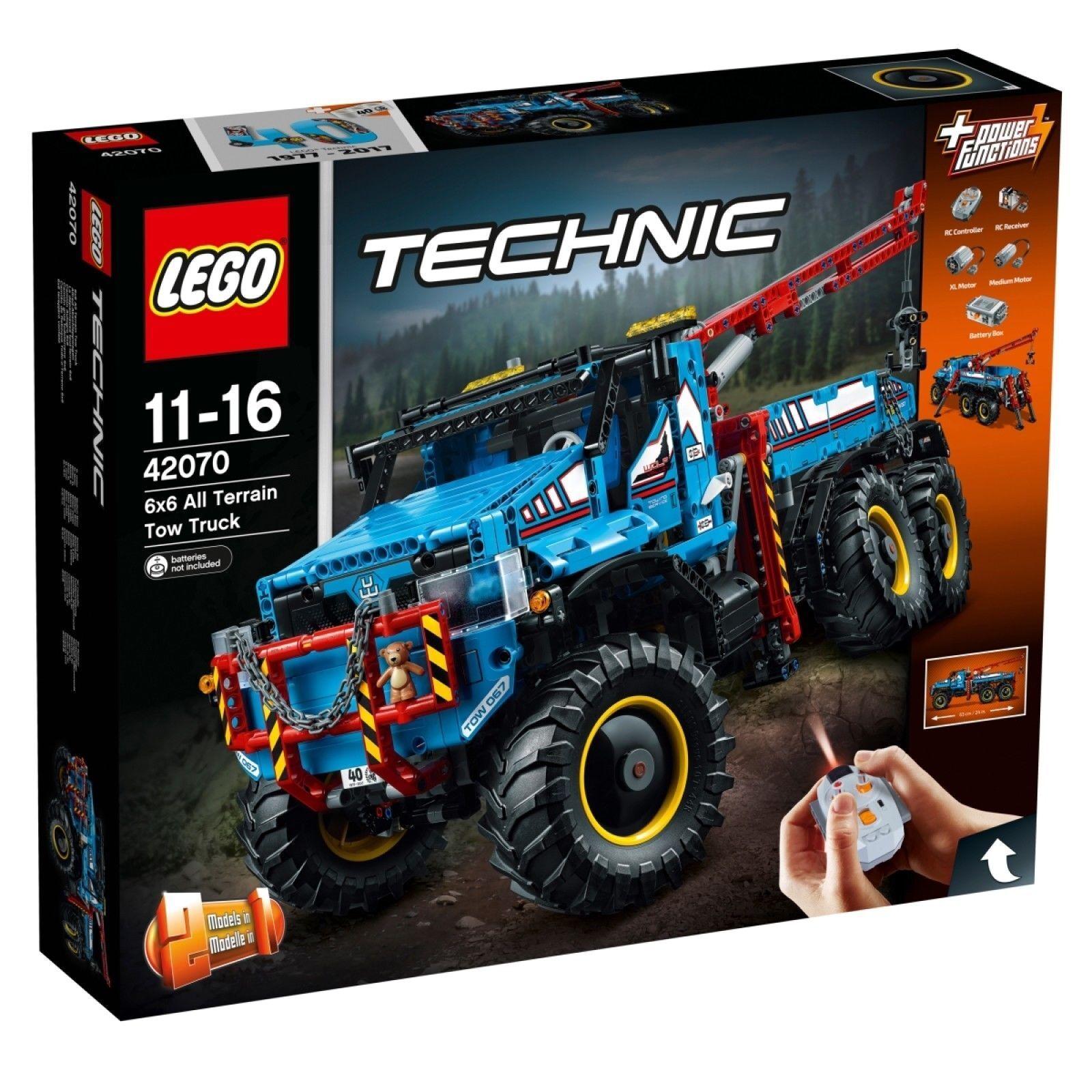 LEGO ® Technic 42070  Sagomate-Carro attrezzi  2-in-1 - MODELLO RARO SET Nuovo/Scatola Originale