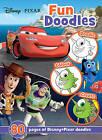 Disney Pixar Fun Doodles: 80 Pages of Disney Pixar Doodles by Parragon Books Ltd (Paperback, 2016)