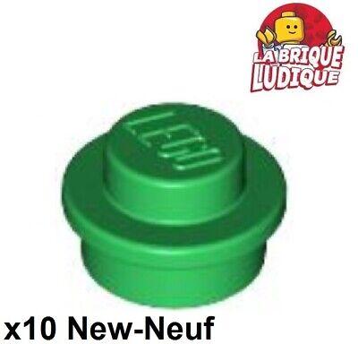 Lego 4073 Round Plate 1 X 1   x10