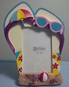 Frame Sunglasses 4 Picture Time X 6 Inch Memmories Flop About Details Summer Flip Beach 08OmvNnw