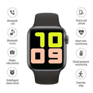 T500 Smart Watch Bluetooth Model Waterproof Blood Pressure Heart Rate 4 Color