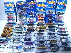 Hot-Wheels-Mattel-Die-Cast-1-64-Cars-Sealed-1990s-2000s-Multi-Listing-Choice