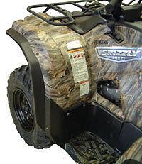 YAMAHA GRIZZLY 550 700 FENDER FLARES ATV DIRECTION 2 OVERFENDER SET 07-15
