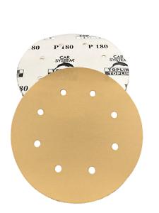 100 Feuilles De Papier Abrasif Meules p180 200 mm environ Topline auto-adhésif