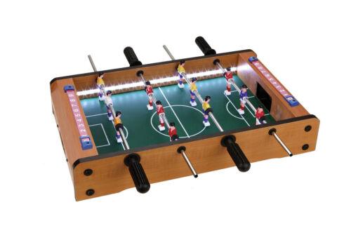 Table de scores  51 x 31 cm Mini baby foot Lumineux  à LED 2 balles