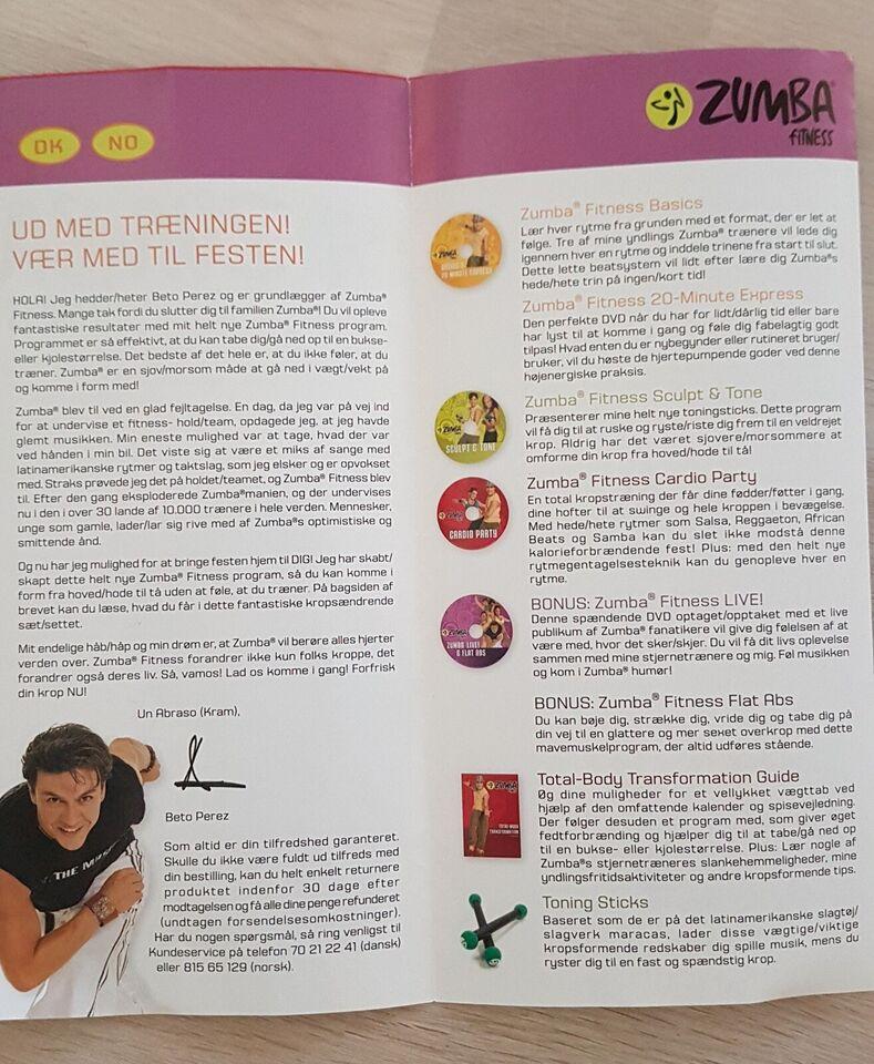 Zumba, Dvd serie