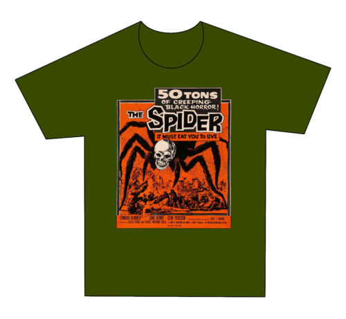 The Spider A13 - Adult sizes S thru 5X Custom Horror T-Shirt -