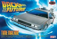 Polar Lights 1/25 Back To The Future Time Machine Plastic Model Kit 911