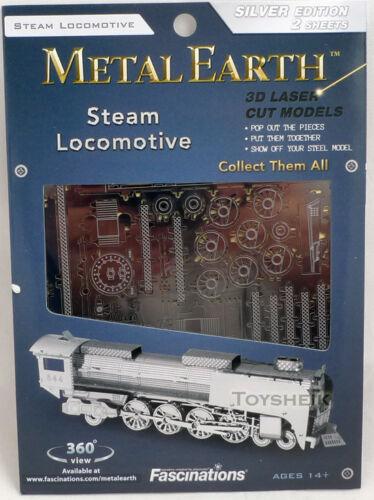 Tweezer  010336 Metal Earth Steam Locomotive 3D Metal  Model