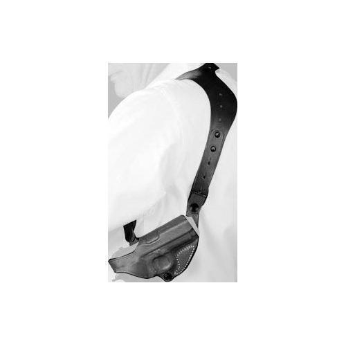 Desantis C.E.O. Hombro Funda Para Glock 17, 19, 22, 23, 26, 27 Negro, mano derecha