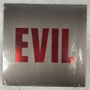 GRINDERMAN / NICK CAVE~ Evil 2011 UK Limited Mute Records 12in Red Vinyl And CD.