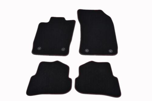 S-Line Fußmatten für AUDI A1 S1 8X Bj.2010 Original Qualität Velours Automatten