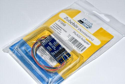 ESU 51958 Digital Adapterplatine PluX22 mit 9 Ausgängen NEU /& OVP Platine