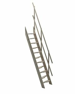 Image Is Loading Wooden Staircase Kit Loft Attic Stairs Ladder Space