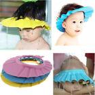 Adjustable Soft Safe Shampoo Bath Shower Cap Hat Wash Hair Shield For Baby Kids
