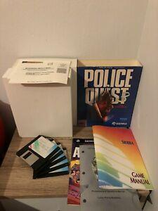 POLICE QUEST 3 COMMODORE AMIGA COMPLETE 100% SIERRA