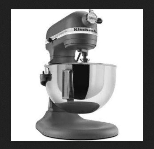 KitchenAid Pro 600 Stand Mixer Rkp26m1xgr 6 Quart Big Professional ...