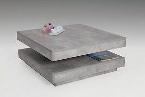 Das Bild Wird Geladen Couchtisch Ben Tisch Beitisch Wohnzimmertisch Drehbar Mit Ablagefach