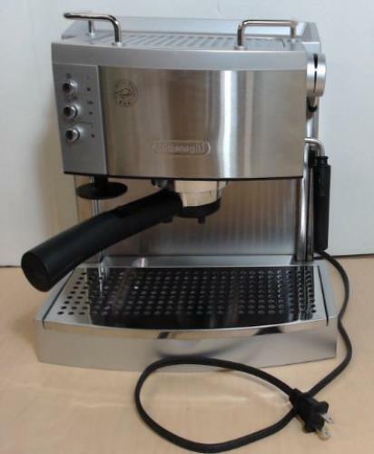 De'Longhi EC702 15 Bar Stainless Steel Espresso / Cappuccino Machine $200