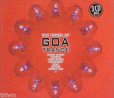 The Power Of Goa Trance - 3CD BOX - GOA TRANCE - TBFWM