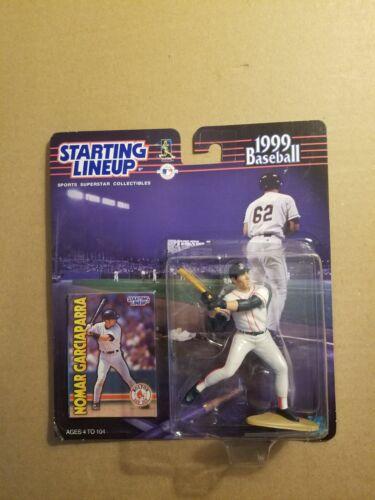 Starting Lineup Nomar Garciaparra 1999 Baseball Figure Boston Red Sox NEW
