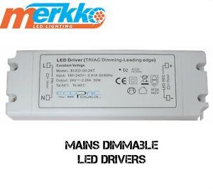 50 Watt Dimmable LED TransformerDriver