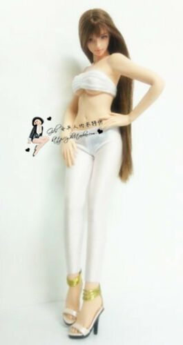 "1:6 Scale White Bra+Thong Pants Underwear+Leggings Set F12/"" PH HT Female Doll"