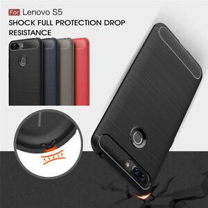 Pour-Lenovo-S5-K8-Note-K8-Antichoc-Silicone-Souple-Caoutchouc-Brosse-Coque