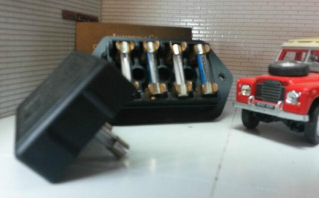 genuine oem lucas fusebox cover 10 fuses david brown. Black Bedroom Furniture Sets. Home Design Ideas