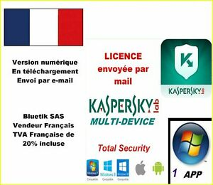 Kaspersky Total Security Multidevice 2021 - 1 App 1 An ...