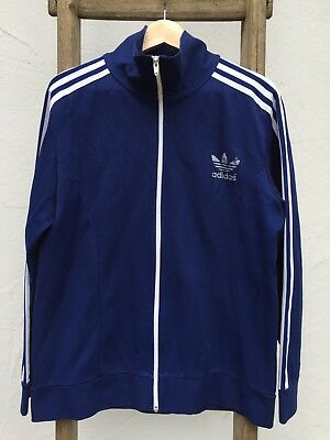 Adidas Trainingsjacke original 80er Vintage blau sehr guter Zustand Gr. 8 L | eBay