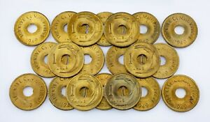 1949-Turkey-1-Kurus-Coin-Lot-20-coins-All-in-BU-Condition-KM-881