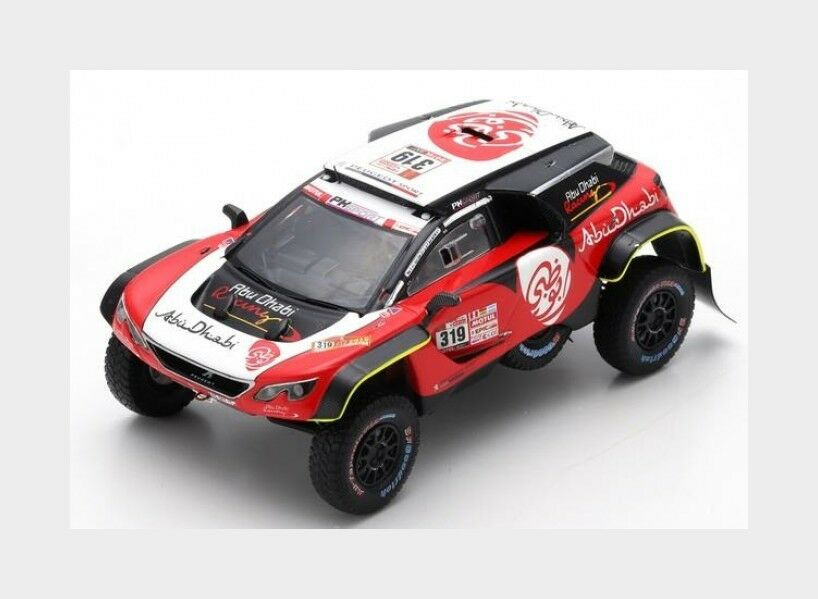 Peugeot 3008 Dkr Maxi  319 Dakar 2018 S.K.Al Qassimi X.Pansieri SPARK 1 43 S5623