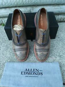 Allen Edmonds Grey Strandmok Size 9D | eBay