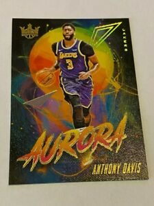 2019-20-Court-Kings-Anthony-Davis-The-Brow-AURORA-Case-HIT-SSP-Nice-Card-Lakers