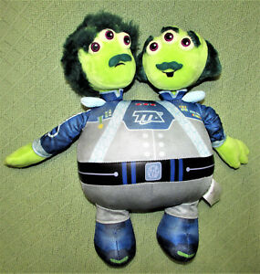 Disney-Store-Tomorrowland-WATSON-CRICK-Plush-2-Headed-Alien-Stuffed-Doll-14-034-Toy
