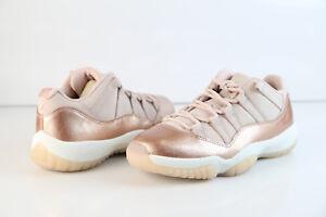 buy online e6c41 a9595 Details about Jordan Retro Womens 11 Low Rose Gold Red Bronze Sail  AH7860-105 6.5-12 xi air