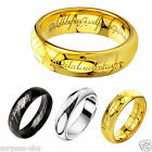 Lord of the Rings Stainless Steel Batman Ring Band Wedding  jewerlly 8-12