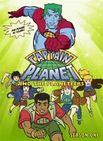 Captain Planet And The Planeteers Season 1 Sealed 4 Dvd Set